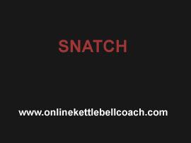 snatch kettlebells