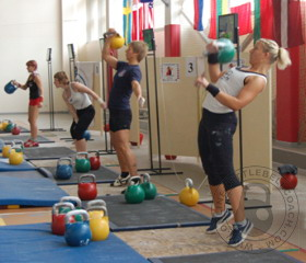 Kettlebell lifting in Finland