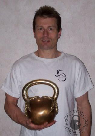 Paul Tucker talks about kettlebell lifting in Australia