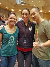 Coach Mayachela Garica, CMS / Jessica DiBiase, MS / Coach Steven Khuong Ice Chamber Kettlebell Team