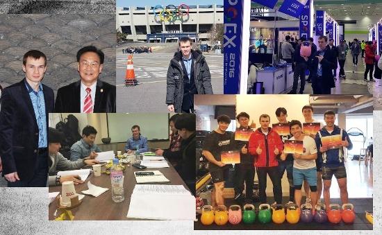 Korean kettlebell seminar 2016 and meeting with TAFISA President