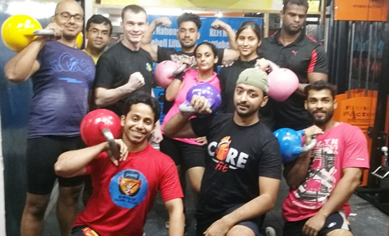 Indian kettlebell lifting federation, 2018